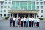 中国医药物资协会执行会长刘忠良一行考察协会核心工业